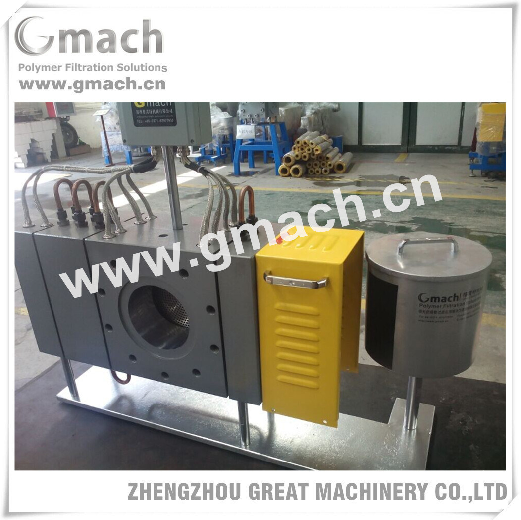 Full Automatic Continuous Screen Changer for Plastic PP Sheet Extrusion Machine
