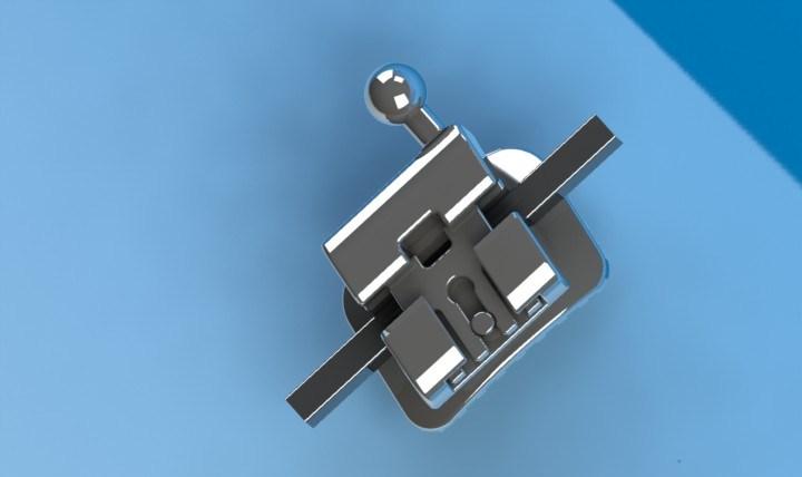 Dental Product Orthodontic Self Ligating Mbt Bracket of Passive System Standard 0.022