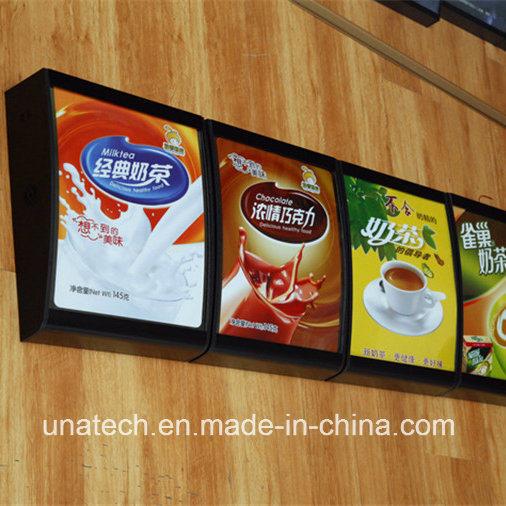 Aluminum Snap Frame Fast Food Restaurant Kfc Mcdonald′s Menu Board LED Signboard Light Box