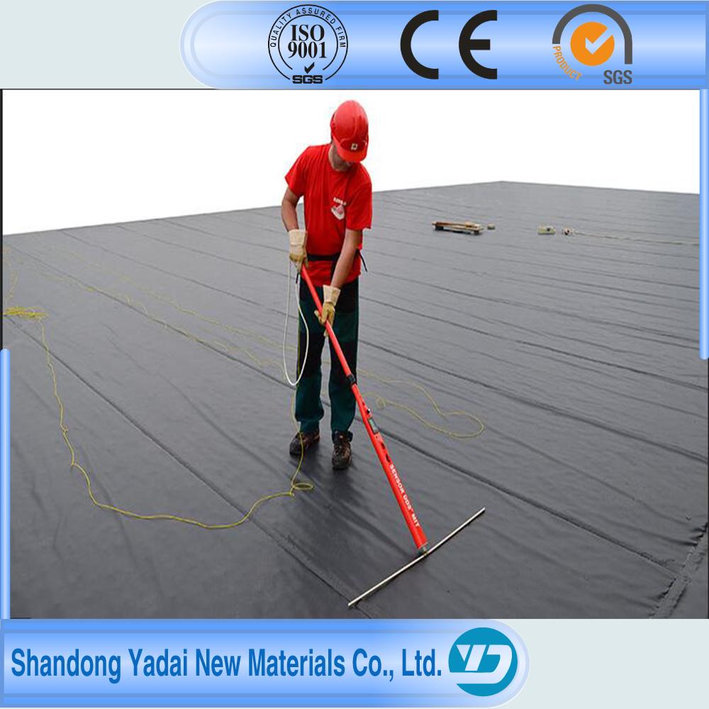 HDPE Geomembrane/ Black Plastic Sheeting