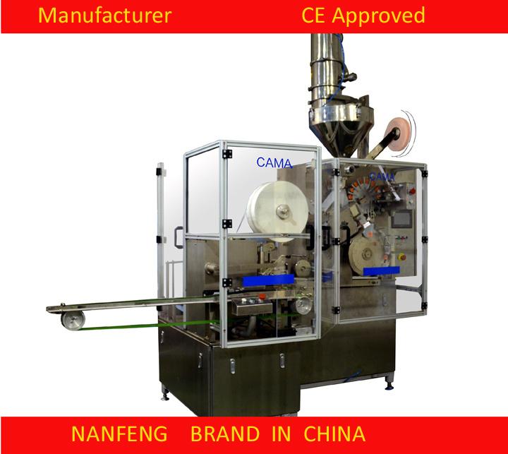 Single Chamber Tea Bag Machine with PLC Control/Empty Bag Reject Model Dxd01kc6 New Machine