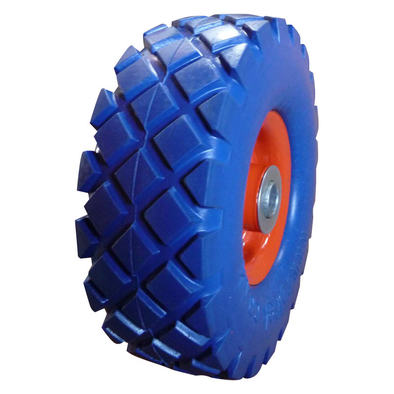 "10inch 10""X4.10/3.50-4 Flat Free PU Foam Wheel"