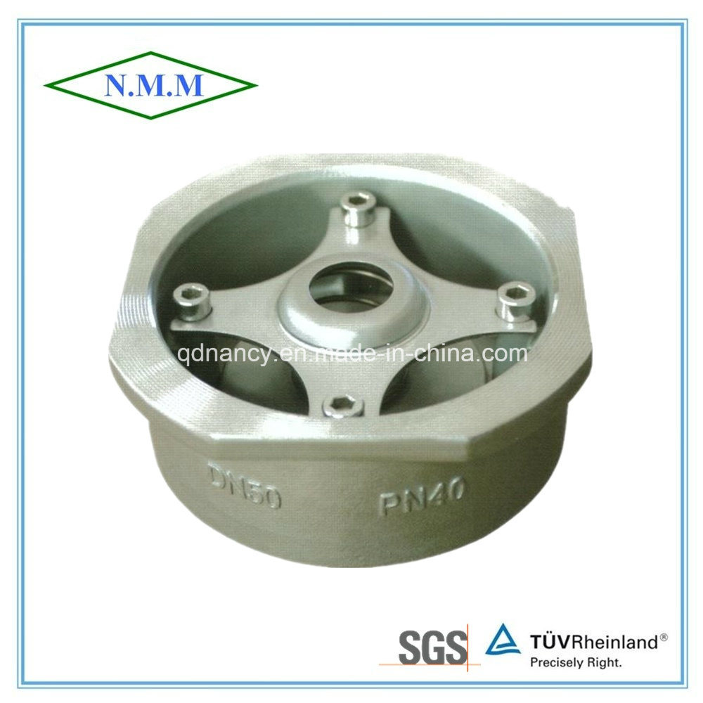 Stainless Steel Wafer Type Lift Check Valve, Pn40