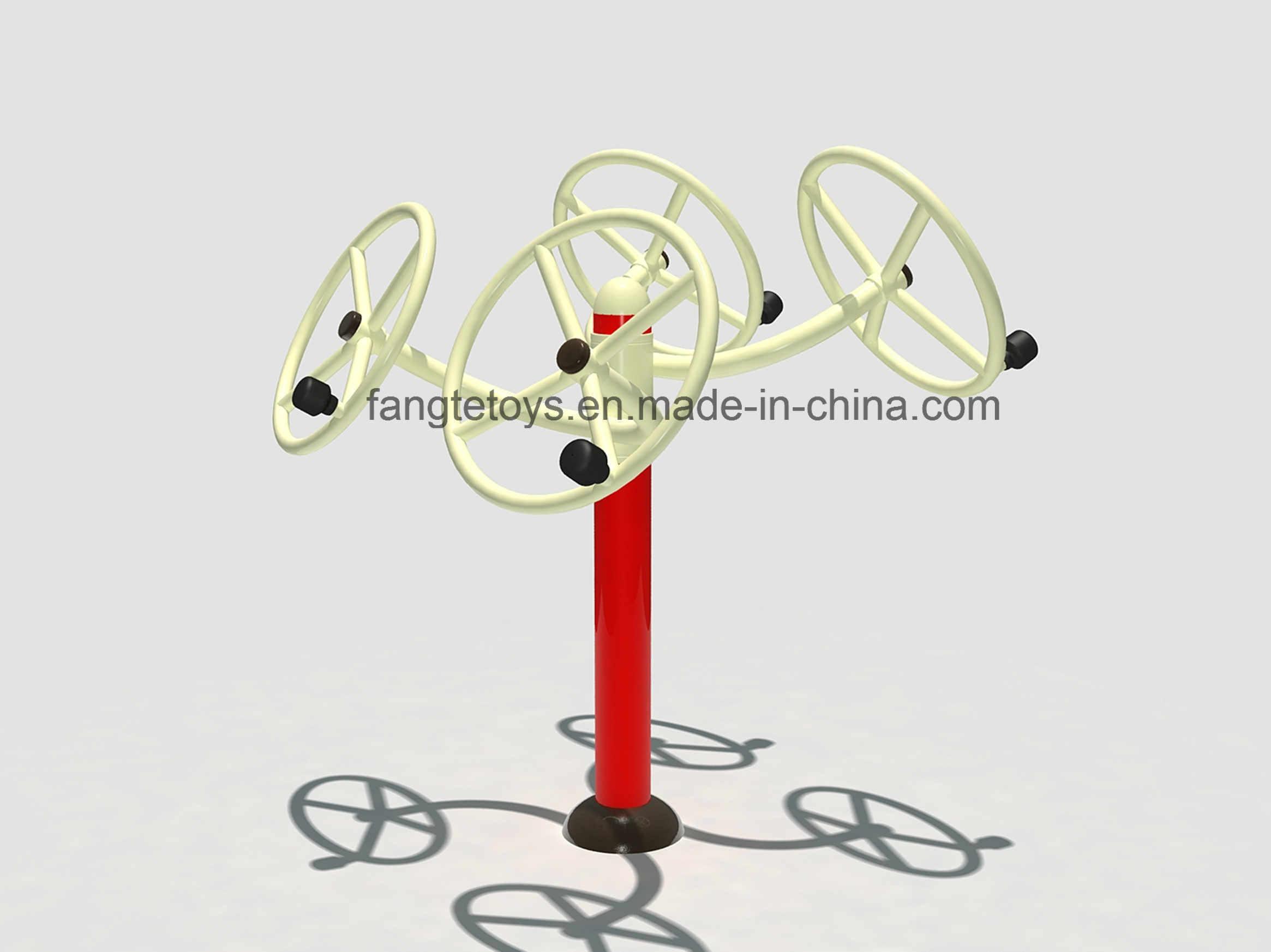 Outdoor Fitness Equipment Outdoor Exercise Equipment Taiji Wheel FT-Of326
