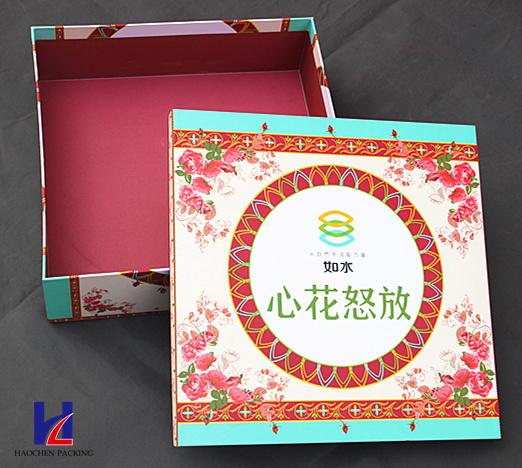 Custom Elegant High Quality Color Printing Cardboard Gift Box