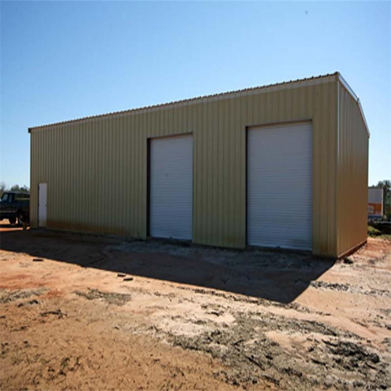 Earth Quake Resistance Steel Frame Structure Warehouse