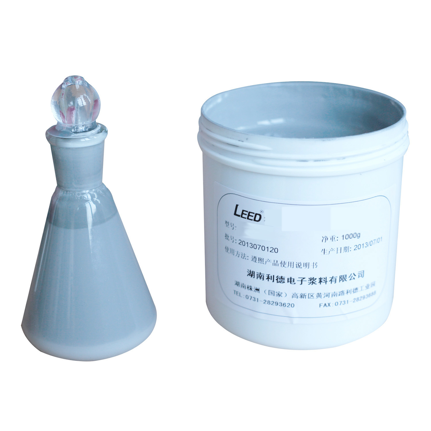 Stainless Steel Paste (Dielectric/Resistor/Conductor)