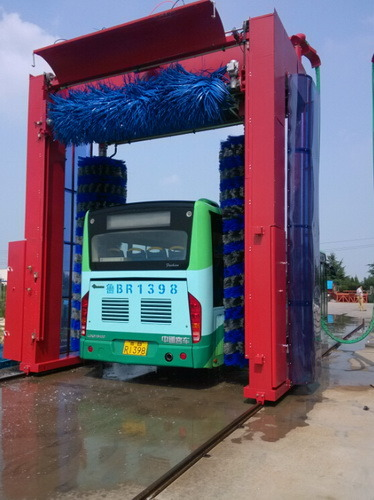 Automatic Bus Washing Machine Ce Certificate Lorry Washer