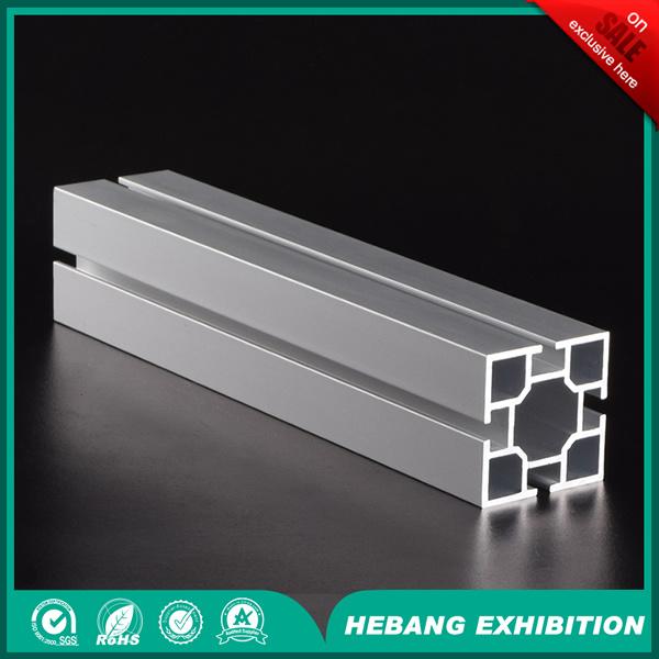 Aluminum 4cm 4 Slot Square Column