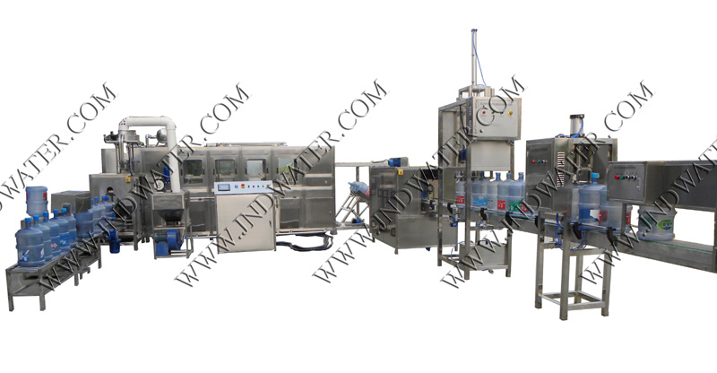 Automatic 18.9L / 5 Gallon Bottle Water Filling Machine (450 BPH)