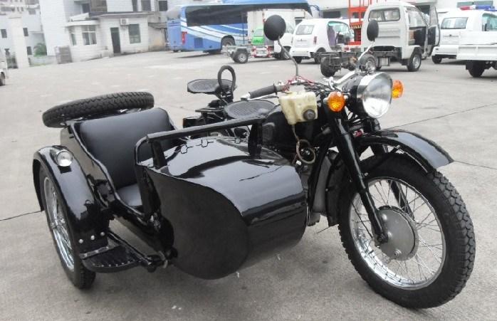 China Hot Sale Classic 750CC Black Trike Sidecar ...