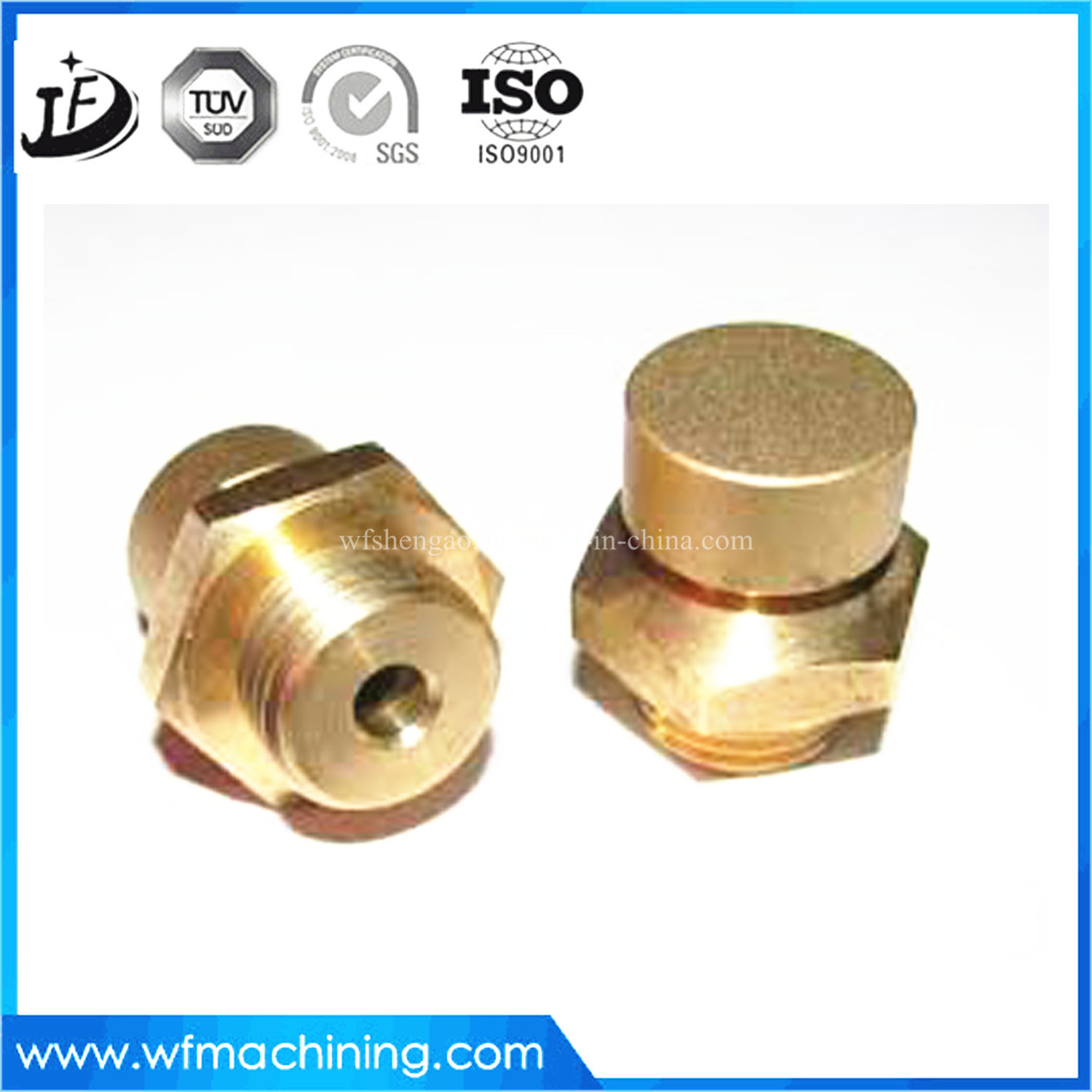 Custom Made High Precision Brass/Copper/Steel CNC Machining Turning Parts