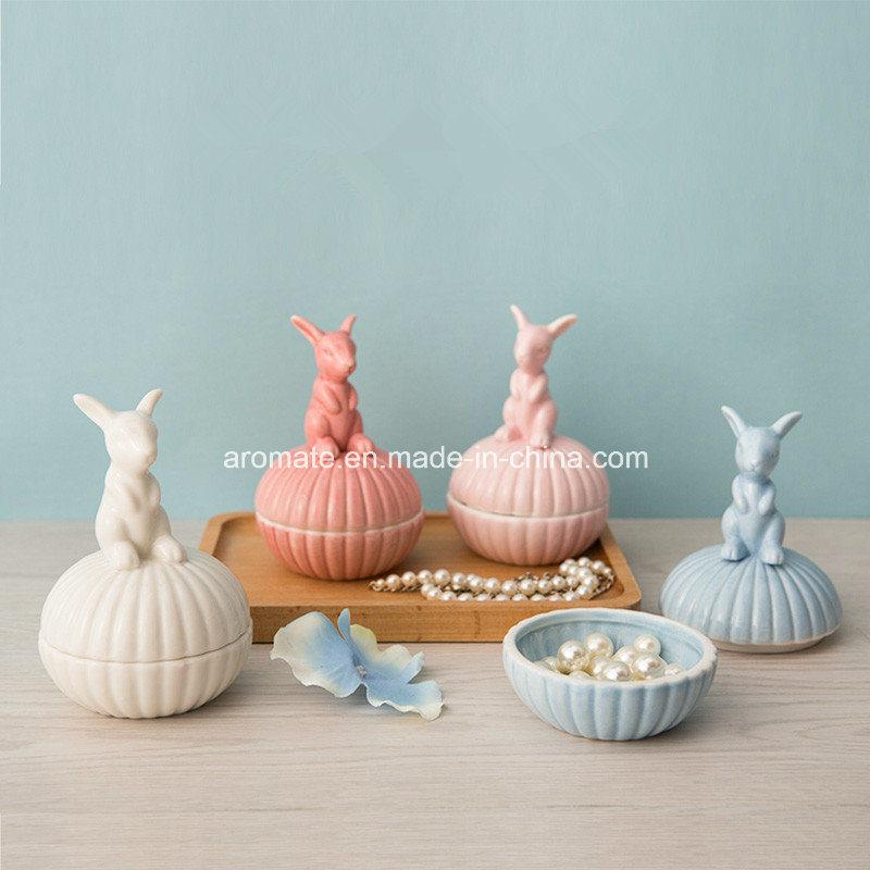 Wedding Gift Ceramic Jewelry Box (CC-04)