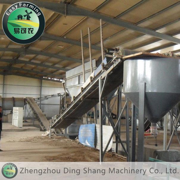 Small-Sized Organic Fertilizer Production Plant