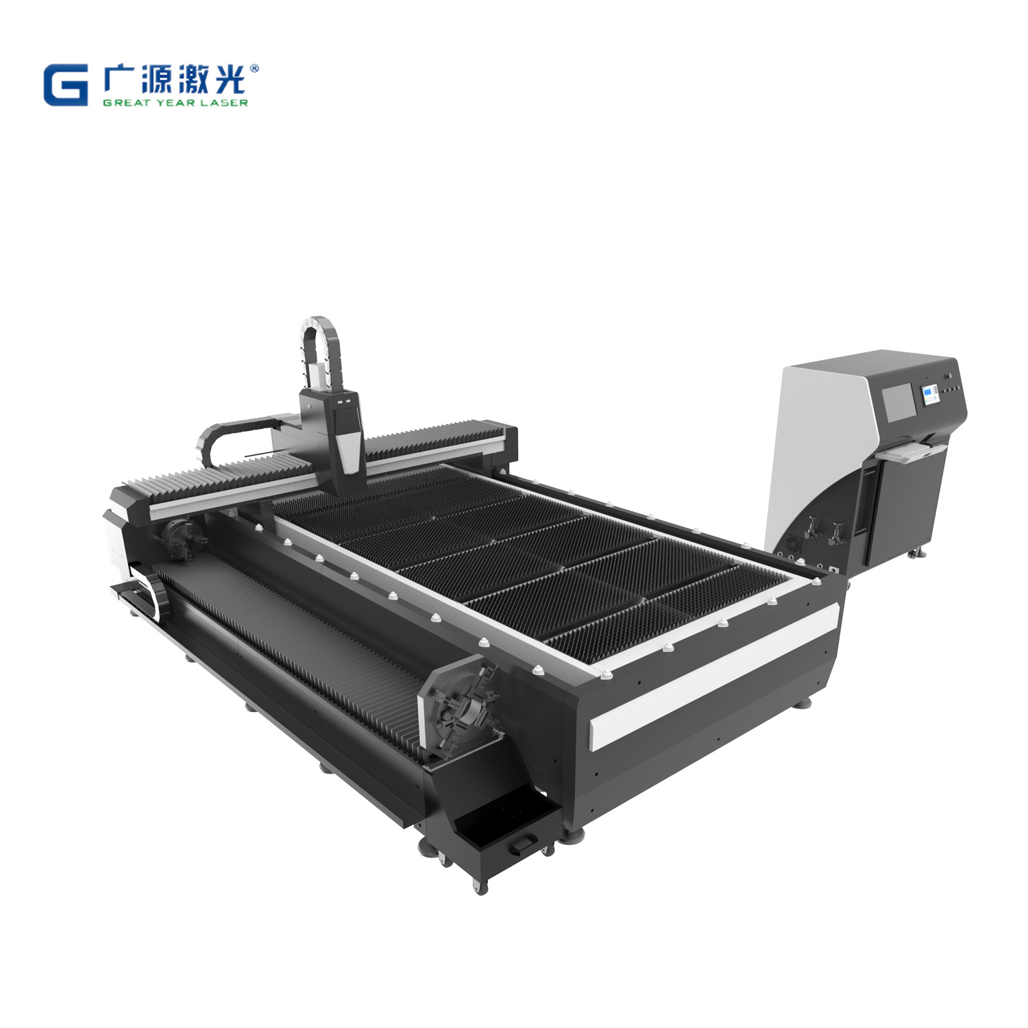 Metal Sheet CNC Fiber Laser Cutting Machine Price with Max, Ipg, Raycus Power
