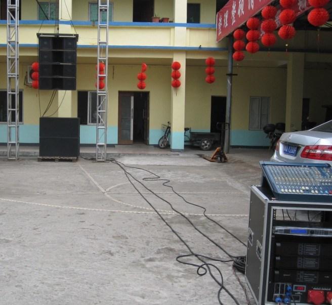 "Dual 12"" 3-Way High Power Line Array PRO Audio (VT-4888)"