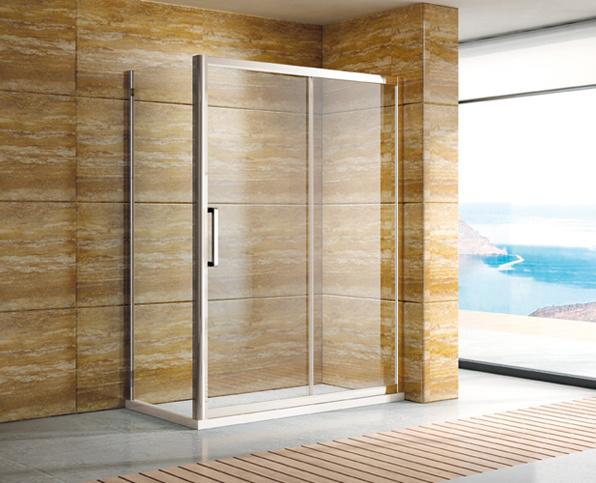 6/8mm Tempered Glass Square Shower Shower Enclosure (09-PT1131)
