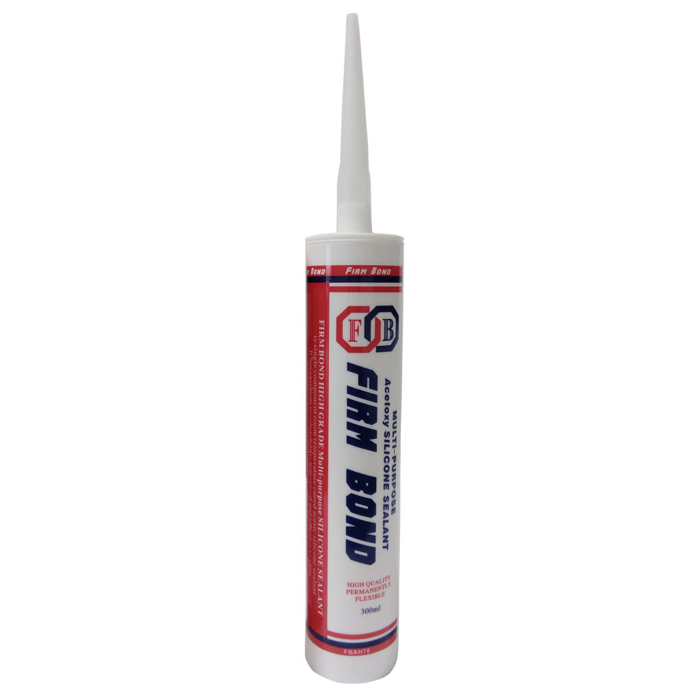One Component Indoor Decoration Acetory Silicone Sealant