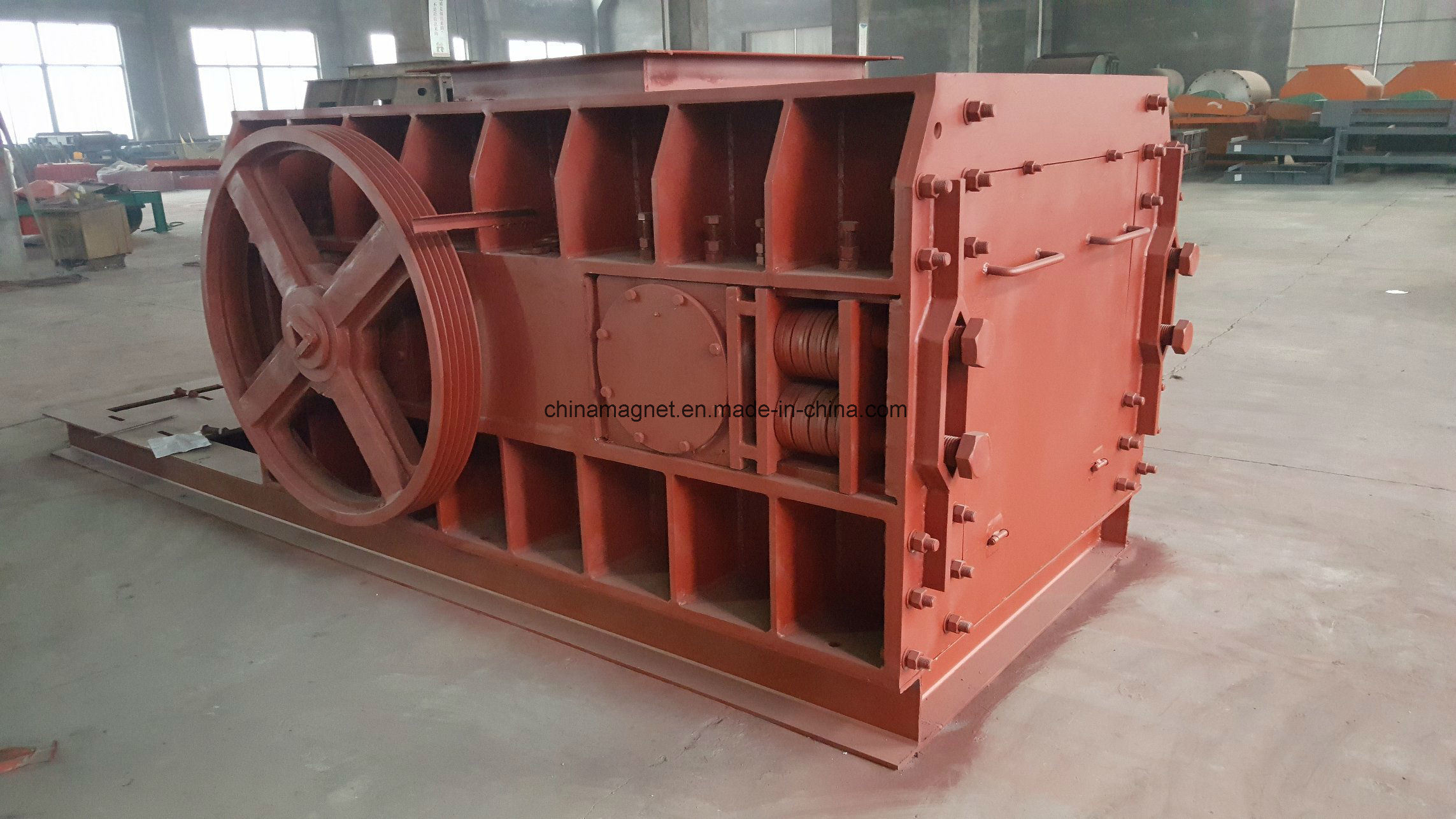 2pg Double Teeth Roller Crusher/ Stone Crusher for Gold Mine/Crushing Aggregate/ Rock/ Stone,