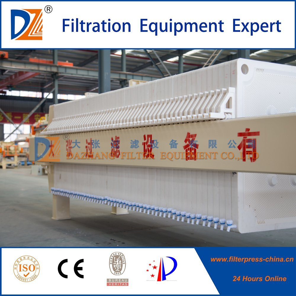Chamber Filter Press by Hand for Sludge Dewatering