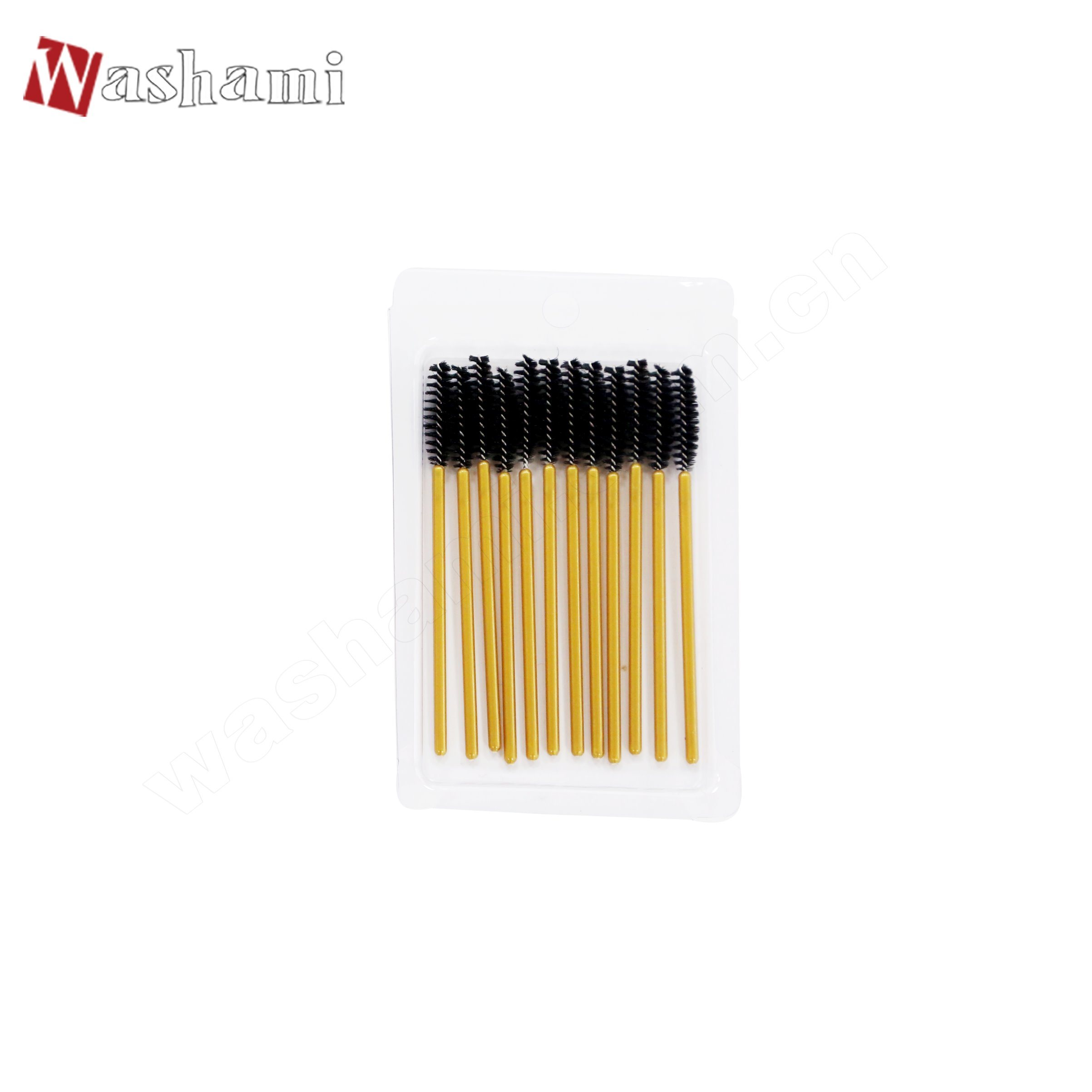 Washami 12PCS Mascara Brush Custom Makeup Brush Set