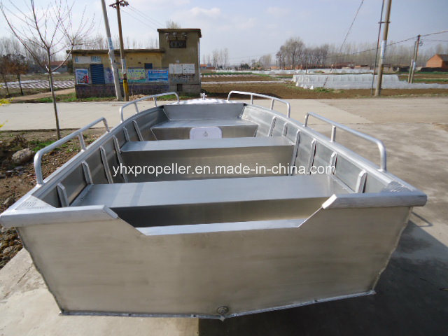CE Cetificated Aluminum Alloy Material for 3.7 Meter Long in Big Sea
