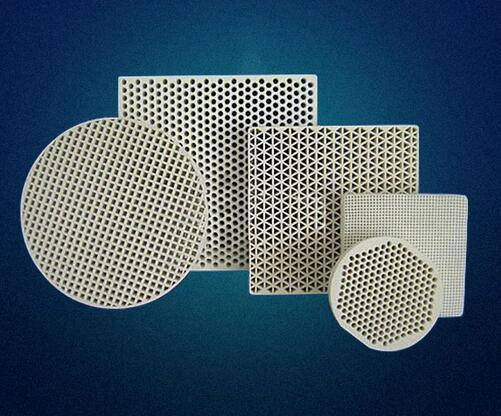 Cordierite/Mullite Ceramic Honeycomb Filter for Foundry