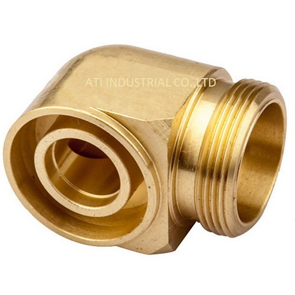 Brass Pump Body Forging Part