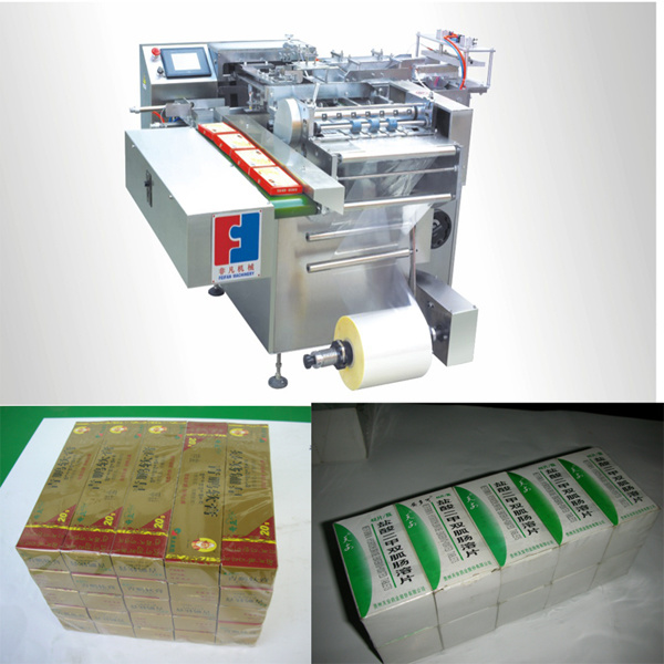 Italy Technology Cellophane Wrapping Machine with Servo Motor