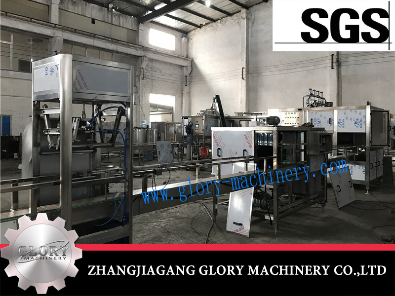 600bph Automatic 3 in 1 Washer Filler