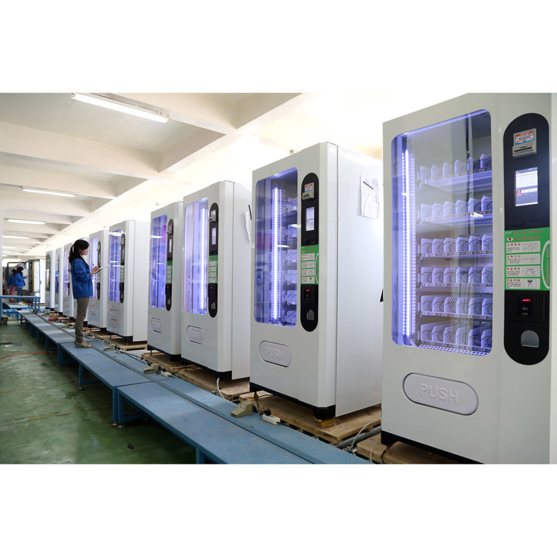 Snack/Cold Drink and Coffee Vending Machine (LV-X01) - 3