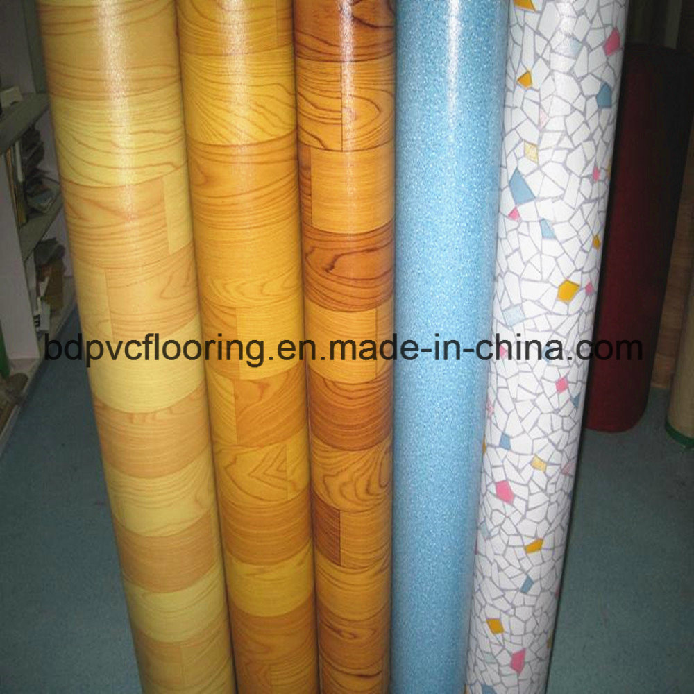 PVC Commercial Roll Floor Covering