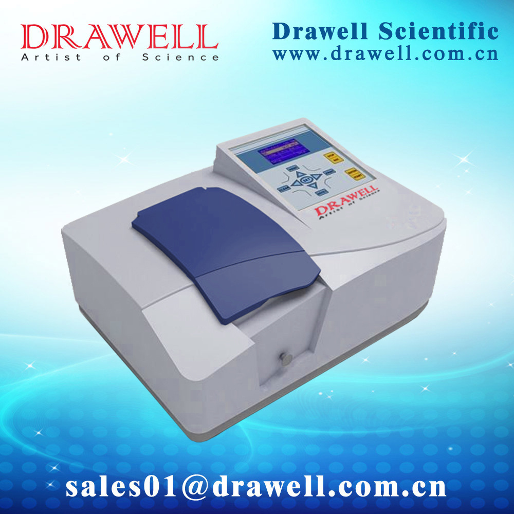 Drawell Single Beam UV-Visible Spectrophotometer with 190-1100nm (DU-8200)