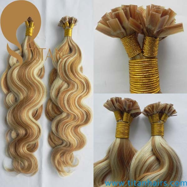 Brazilian Human Virgin Remy Keratin Hair Extension