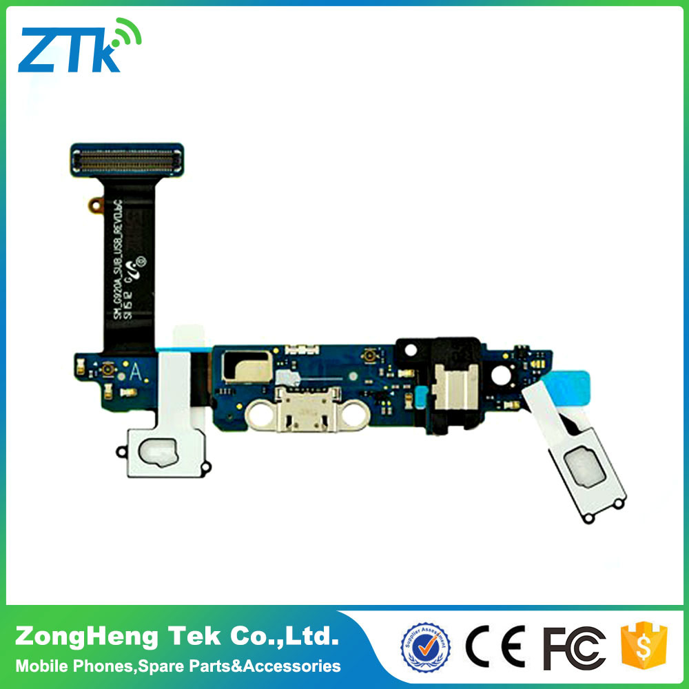 Original Mobile Phone Charging Port Flex Cable for Samsung Galaxy S6 Edge