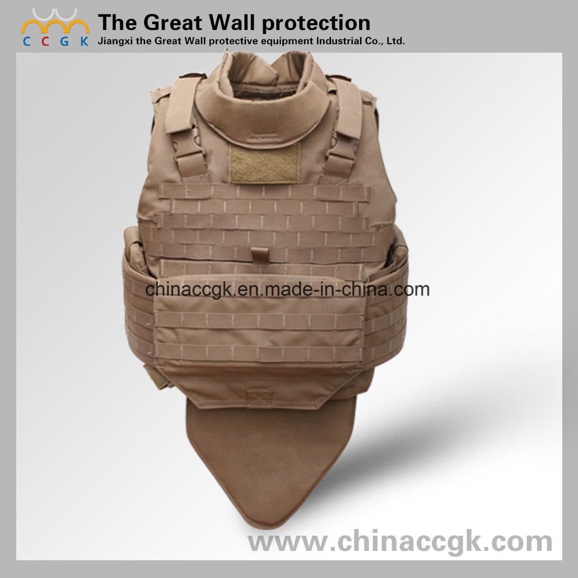 Kevlar/ PE Nijiii/ IV Quick-Release Tactical Bulletproof Vest