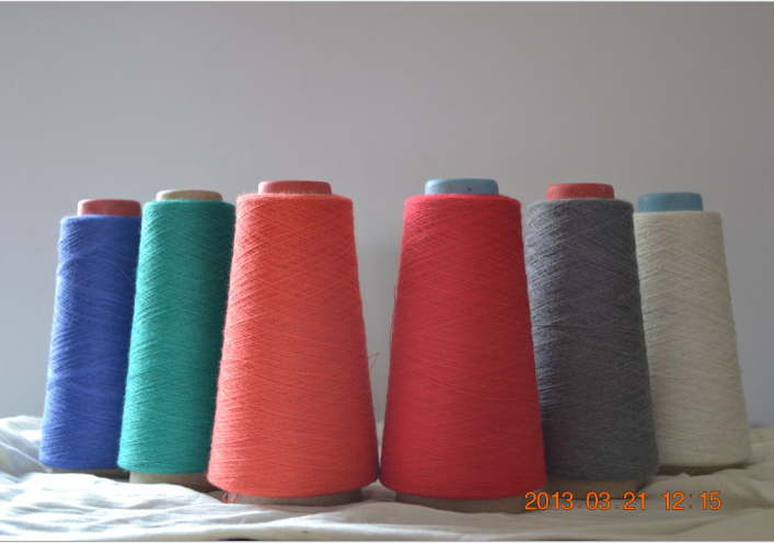 Modacrylic/ Cotton Blended Yarn 60/40