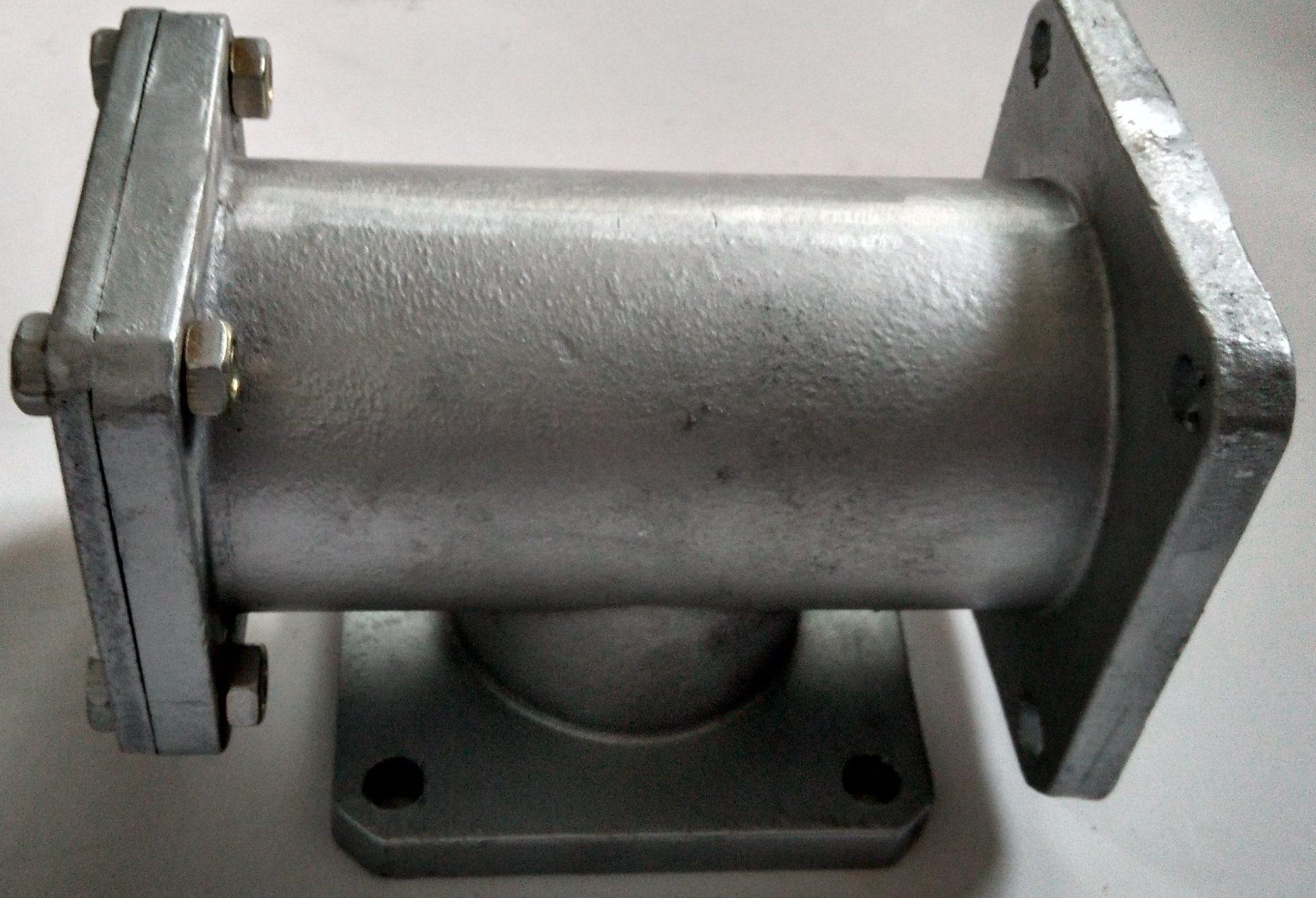 Aluminum Alloy Water Oil Use Three Way T Type Strainer Valve