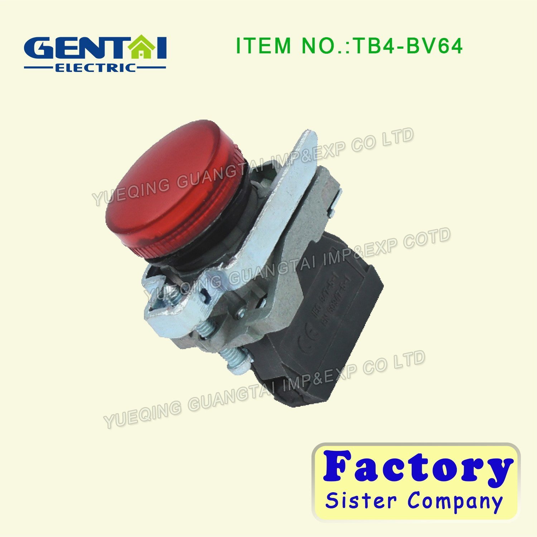 Ba31 Bp31 Ba4322 Bl4322 Push Button 1no 1nc 22mm Flush Push Spring Return