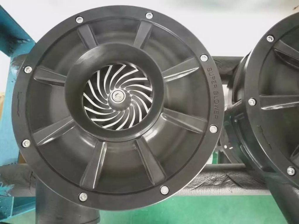 30kw Double Stage High Speed Centrifugal Blower