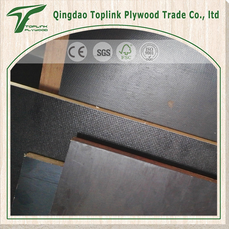 Anti-Slip Film Faced Plywood/ Eucalyptus Plywood / Concrete Plywood/ Antislip Plywood