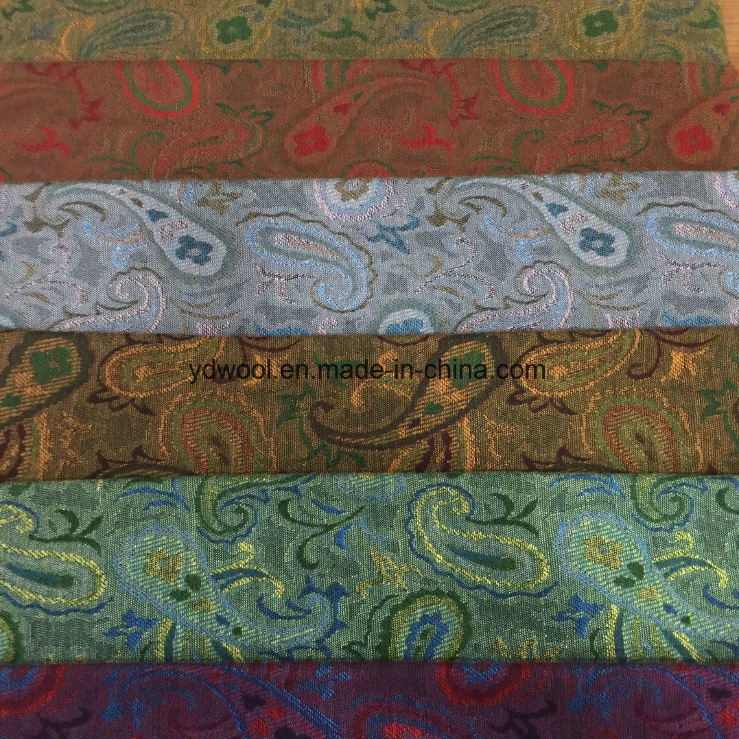 Jacquard Wool Fabric Six Styles Ready/Stock Fabric