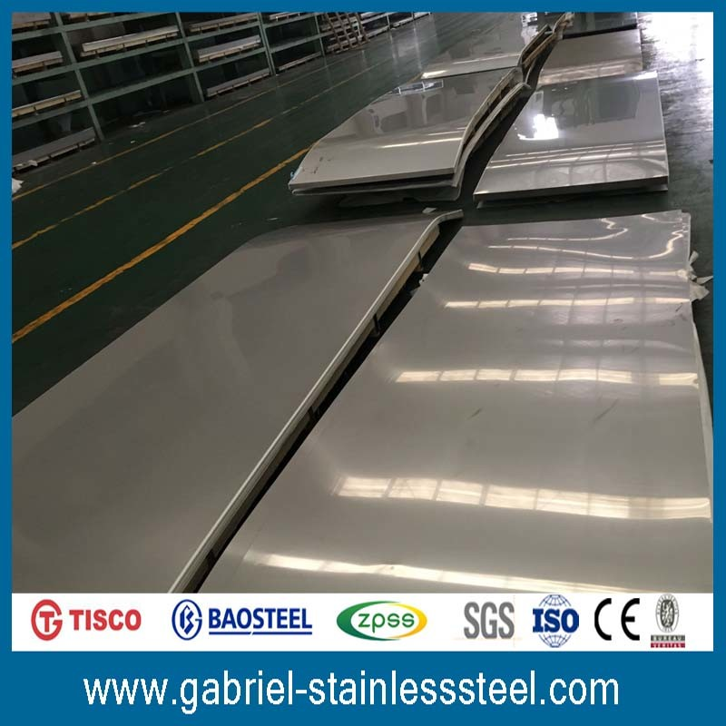 Cold Rolled Steel Grade 316 of 304 2b Finish Stainless Sheet Metal Gauge