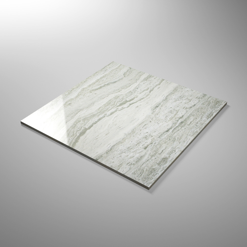 600X600mm Marble Stone Pattern Glazed Polished Floor Tile with Glossy Surface