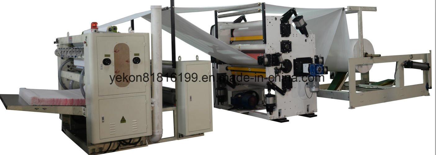 Facial Tissue Folding Machine with Lamination