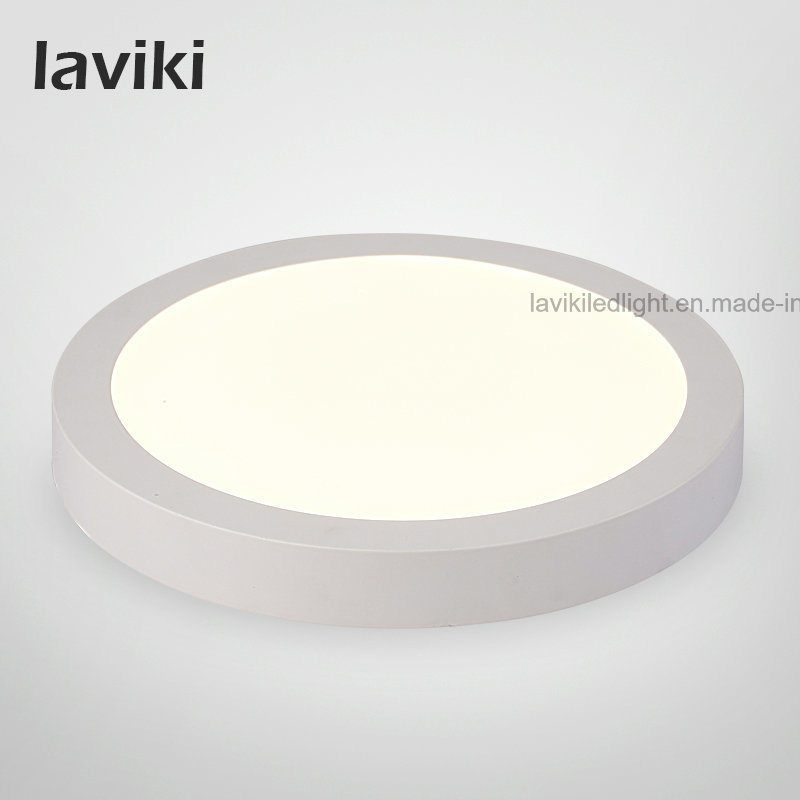 Square Round Surface Mounted LED Panel Light Ceiling Light with 6W/12W/18W/24W for Home Lighting