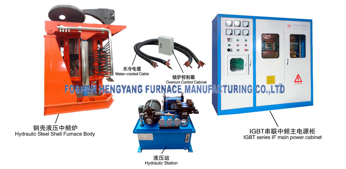 Melting Metal Furnace Make in China