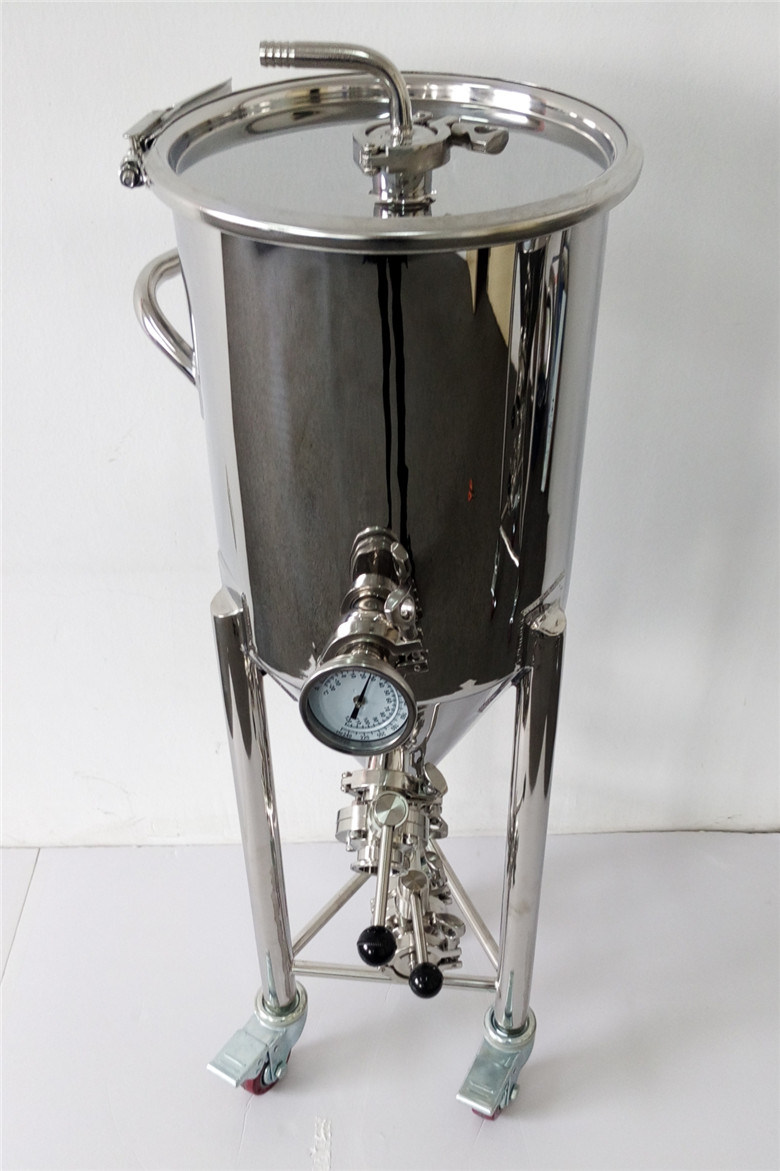 30L 50L Stainless Steel Conical Fermenter and Fermentation Tank