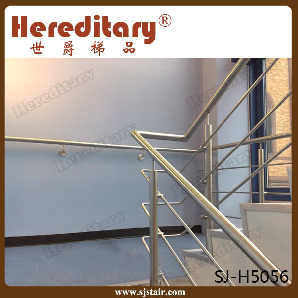 Residential Indoor Pipe Railing Stainless Steel Handrail for Stair