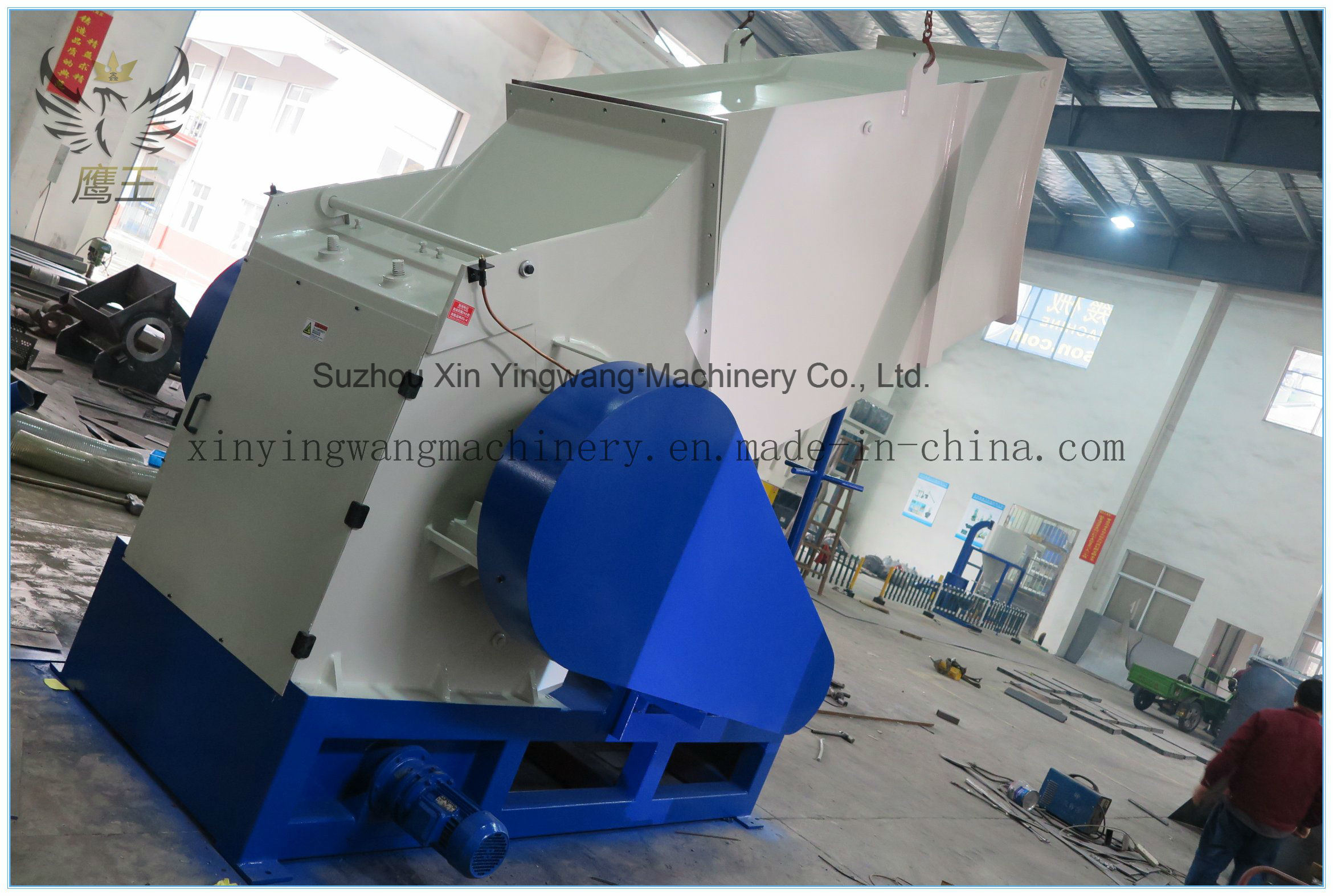 Automatic Plastic Shredder Grinder Crusher Machine